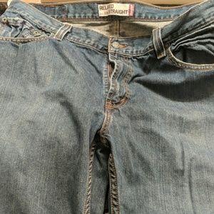 Men's Levi's Faded Denim Jeans